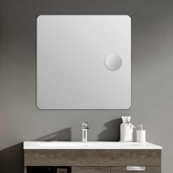 Miroir de salle de bain Zoom Plus Carré