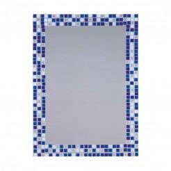 Miroir de salle de bain Lune Bleu 55x75 cm
