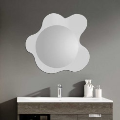 Miroir de salle de bain Pop 75 cm