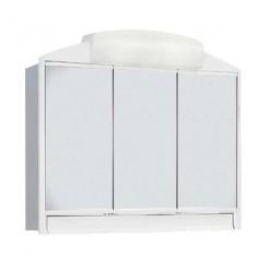 Dressing Salle de Bain Rando ABS Blanc 3 Portes