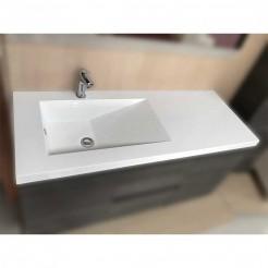 Lavabo Comptoir Lyon Vasque Déplacé