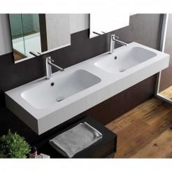 Lavabo Comptoir Belmonte 2 Vasques