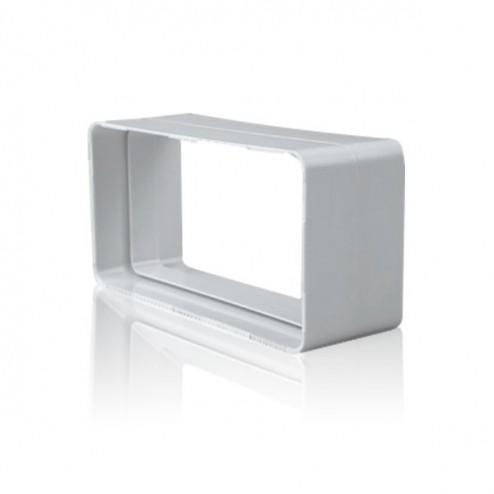 L'épissage plat rectangulaire 90x180mm