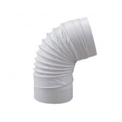 Coude flexible rond Diamètre 150mm Longueur 500mm