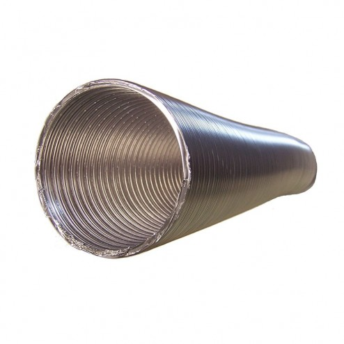 Tube rond en Aluminium Flexible de Diamètre 100 mm