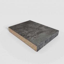 Comptoir Postformé Ciment Foncé