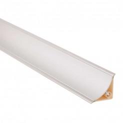 Bouchon Comptoir Concave Argent Mat