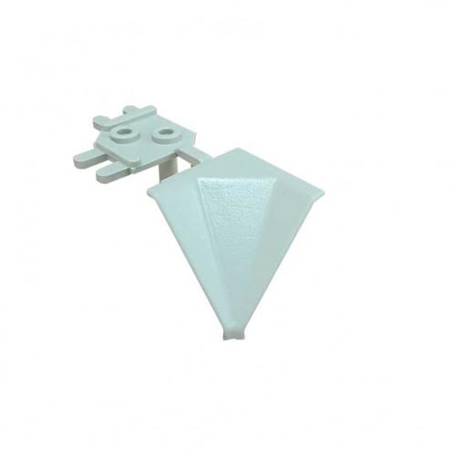 Angle Intérieur Bouchon Comptoir Gris