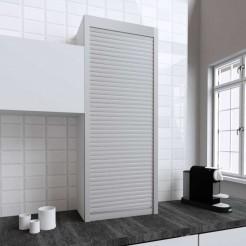 Kit pour Meuble Volet Roulant Cuisine Inox Mat 150x60