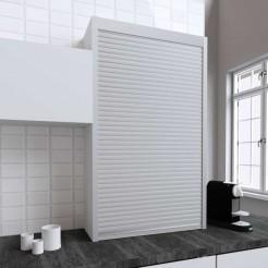 Kit pour Meuble Volet Roulant Cuisine Inox Mat 150x90