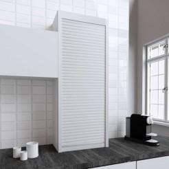 Kit pour Meuble Volet Roulant Cuisine Blanc Mat 150x60