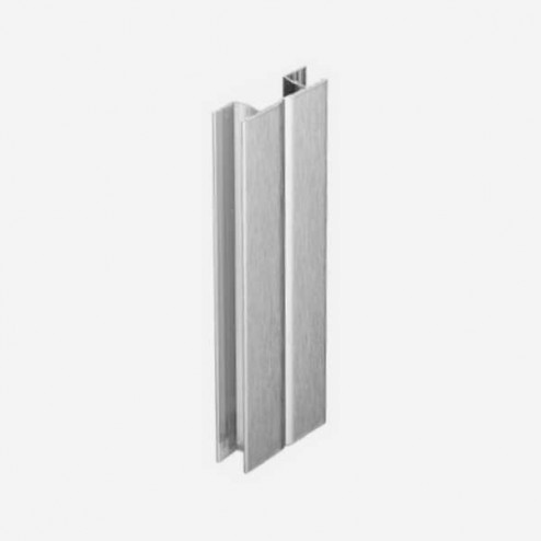 Multi-angle Aluminium Brossé Plinthe PVC Cuisine