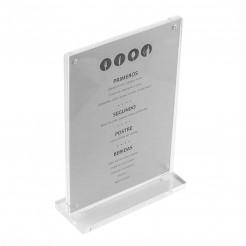 Porte-menu Acrylique