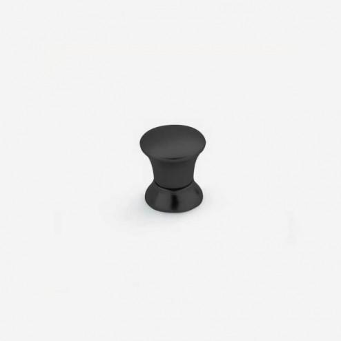 Bouton Métallique Noir Mat 3426