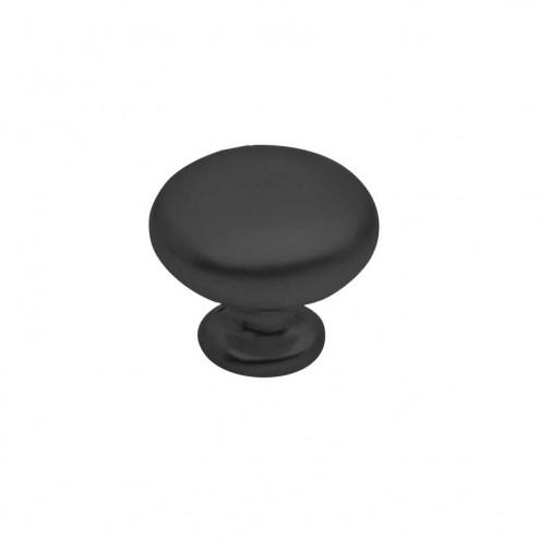 Bouton Métallique Noir Mat 3505