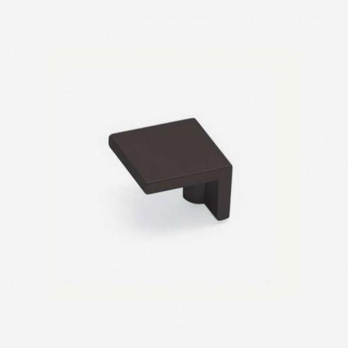 Bouton Métallique Noir Mat 2399