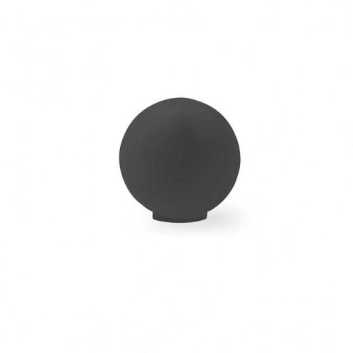 Bouton Résine Noir Mat 3416