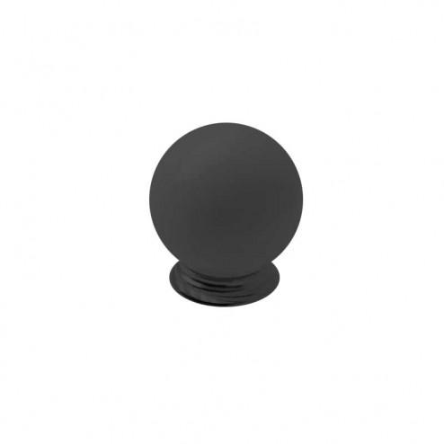 Bouton Résine Noir Mat 3417