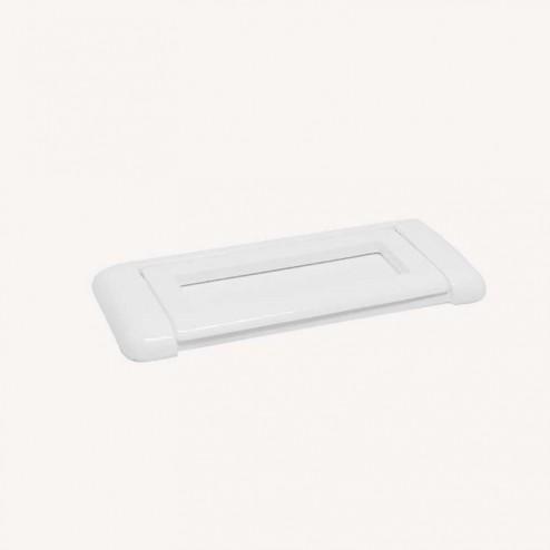 Poignée Métallique Blanc Mat 2270