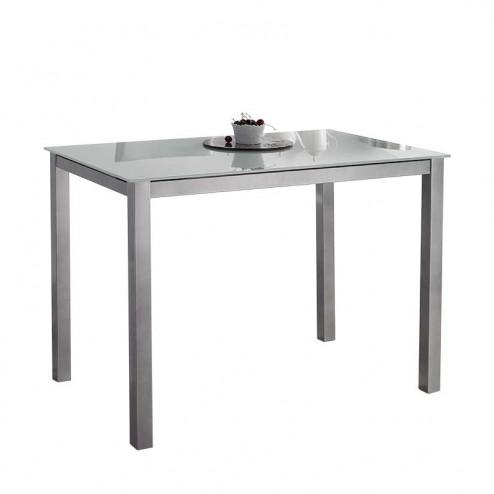 Table de Cuisine en Verre 73x105x60 cm