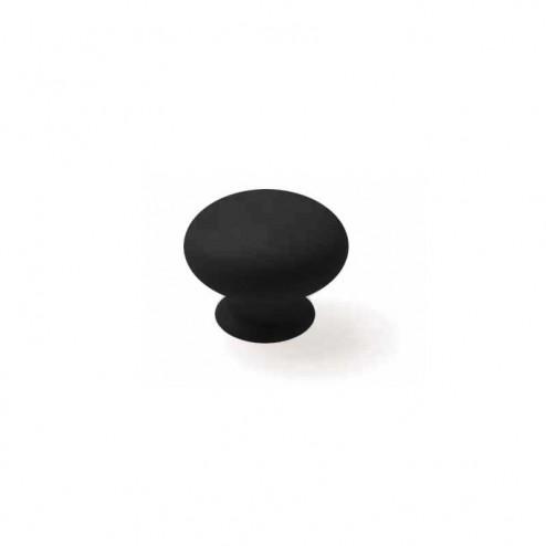 Bouton Résine Noir Brillant 3001
