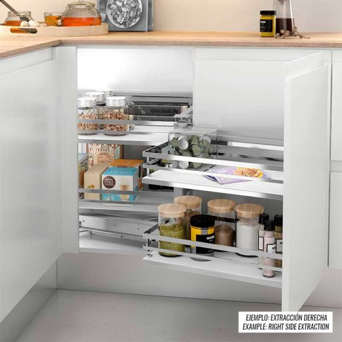 Amovible Articulés dans le Kit d'Angle Aveugle de Cuisine
