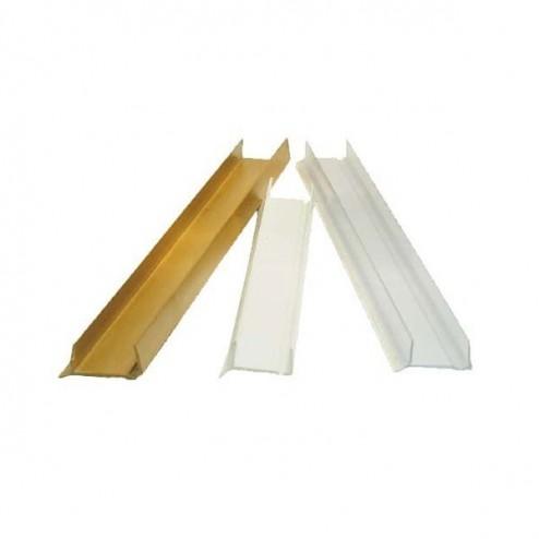 Métro de protection du support de Formica 19 mm Verre