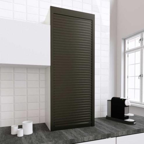 Kit pour Meuble Volet Roulant Cuisine Titane 150x60