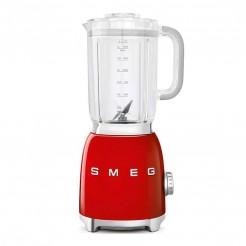 Blender en verre style 50's rouge