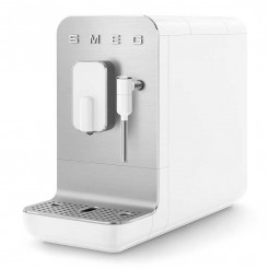 Super Machine à café automatique avec vaporisateur 50's style blanc