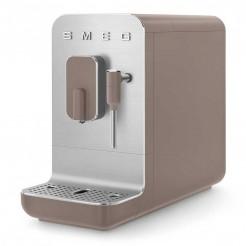 Super Machine à café automatique avec vapeur 50's style gris