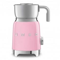 Mousseur à lait 50's style rose
