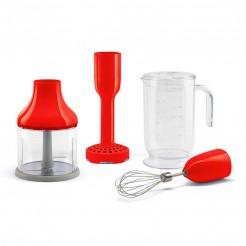 Ensemble d'accessoires de mélangeur à main rouge