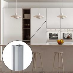 Profil Vertical Gola Aluminium 8018