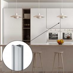 Profilé Gola Vertical Intermédiaire Aluminium 8012