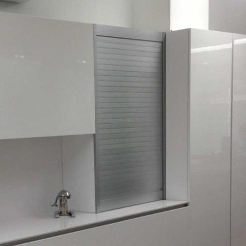 Kit Aveugle Aluminium Acier Brossé