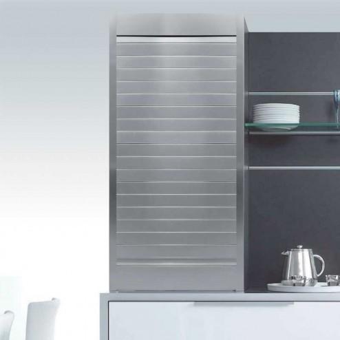 Kit pour le cabinet aveugle de cuisine en aluminium satiné naturel