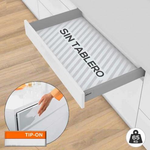 Tiroir Tandembox M TIP-ON BLUMOTION 65 kg Kit SANS Base