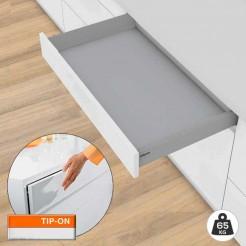 Tiroir Tandembox M TIP-ON BLUMOTION 65 kg Kit AVEC Base Fond 50