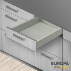 Cajon de cuisine de PVC de l'Europe - plusieurs mesures