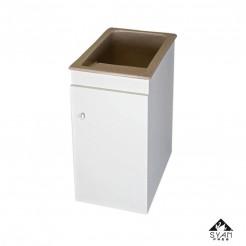 Cabinet de blanchisserie-pile mélamine Apollo