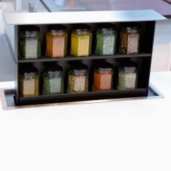Boîte à épices Levée de Comptoir