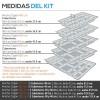 Cubertero Modulaire Injection Gris Cajon Blum
