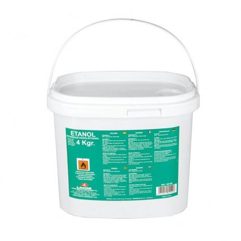 Seau de 4 kg de Gel de Carburant à l'Éthanol