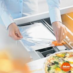 Coupeur de papier d'aluminium TIROIR de la cuisine ORGALINE cuisine Blum