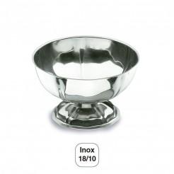 Coupe Basse Crème Glacée Inox 18/10