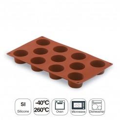 Moule À Mini Muffin 11-Cavité En Silicone Pastryflex
