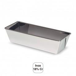 Moule À Cake Lisse Inox 18% Cr.