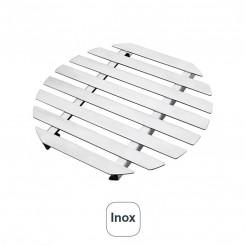 Dessous De Plat Rond Inox 18% Cr.