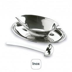 Salsa Luxe avec une Louche en acier Inoxydable